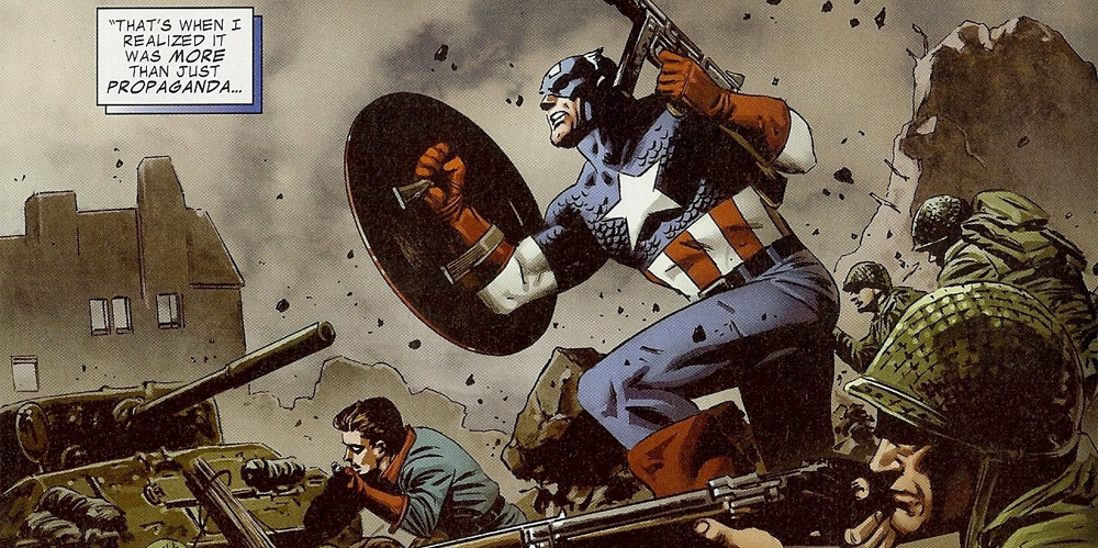WW2 Captain America